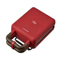 京選 XSN-HS11 星司南 多功能三明治機 單烤盤 可拆卸托盤 陶瓷體溫控 精致生活 高顏值高品質 紅色