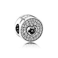 PANDORA 潘多拉 周年紀念女士串飾925銀飾掛件 791977CZ