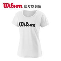 Wilson威爾勝女款吸濕排汗 運動快干T恤UWII SCRIPT