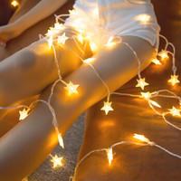 星星燈led彩燈閃燈串燈臥室滿天星少女心房間布置宿舍網紅裝飾小彩燈閃燈串燈滿天星元宵裝飾燈少女心星星