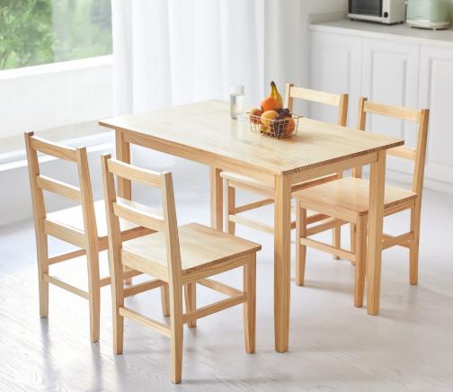8H Lark 全实木餐桌 115*70*75cm