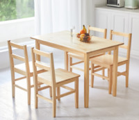 8H Lark全实木餐桌椅
