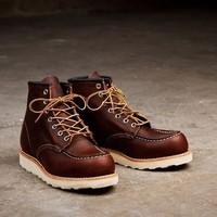 银联专享:RED WING 红翼 8138 6英寸 男士短靴