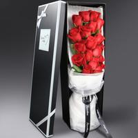 MissMolly 鮮花速遞 19朵紅玫瑰禮盒