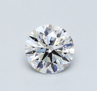 Blue Nile 0.44克拉 圆形切割钻石(切工EX,成色D,净度VVS2)