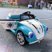 新款可愛公主車四輪遙控兒童電動車