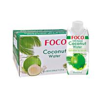 越南原裝進口蘭蒂斯 FOCO 椰子水 330ml*12  整箱+湊單品