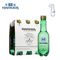 霏澈 西班牙進口天然無糖蘇打含氣泡礦泉水 330ml*6瓶 小瓶便攜裝 *6件