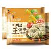必品閣(bibigo)玉米豬肉王餃子 350g*2 水餃 蒸餃 煎餃 鍋貼 早餐食材