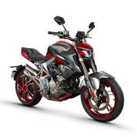 升仕ZONTES 2019新款310R1摩托車 單搖臂ABS國四單缸水冷電噴310cc摩托車 深灰亮紅.