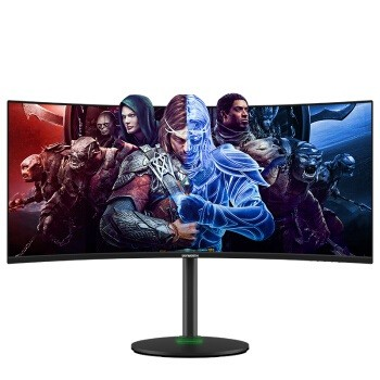 Skyworth 创维 34G1Q 34英寸 VA显示器(3440×1440、1500R、144Hz、FreeSync、HDR400)
