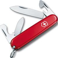 維氏VICTORINOX瑞士軍刀 新兵(10種功能)紅色光面0.2503 *3件