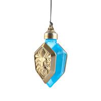 影時光 魔獸世界周邊 正品授權聯盟獅子標志精致小巧汽車香水瓶