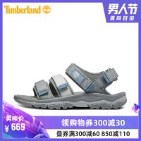 Timberland添柏嵐男鞋19夏新款舒適便捷戶外沙灘涼鞋|A1ZSQ