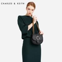 CHARLES&KEITH CK2-80780695 女士斜挎马鞍包