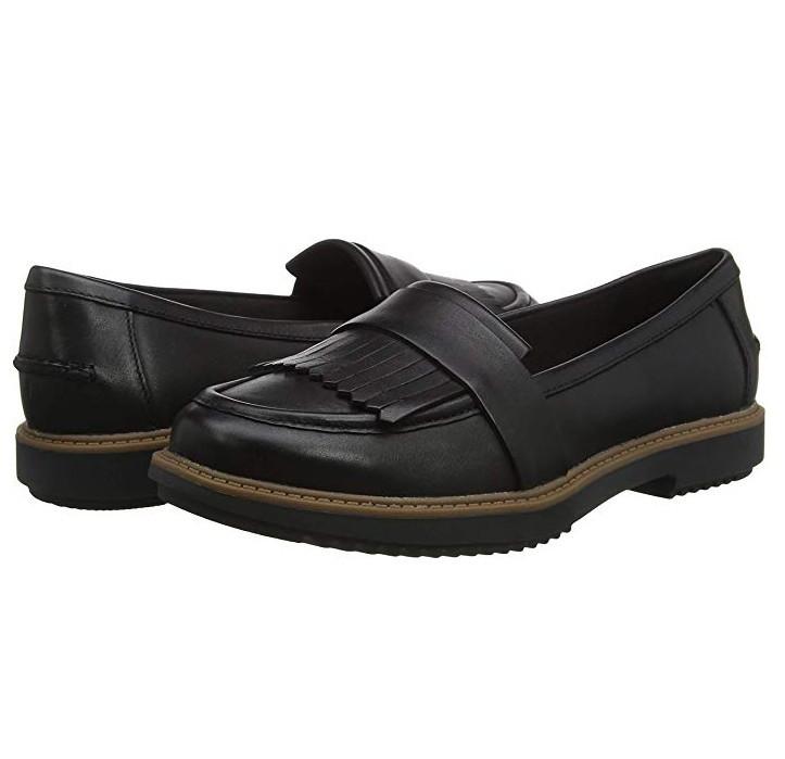 Clarks Raisie Theresa 女士休闲平底乐福鞋