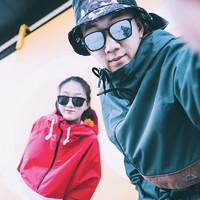 NOBADAY運動套頭滑雪服男女款防水滑雪褲單板雙板戶外滑雪板裝備