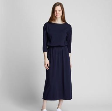 UNIQLO 优衣库 418584 女士棉质连衣裙