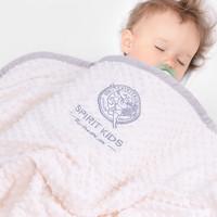 SPIRIT KIDS嬰兒毛毯寶寶蓋毯新生兒抱毯 *2件
