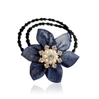 Qicaigezi 七彩格子  F0572 絹花發夾頭飾 多款可選