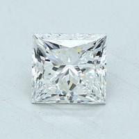 Blue Nile 1.01克拉 公主方形钻石