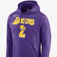 Nike 耐克 洛杉矶湖人队 (Lonzo Ball)  929287 男子连帽衫