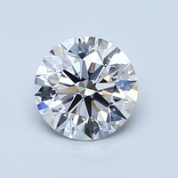 Blue Nile 1.01克拉 圆形切割钻石(切工EX,成色E,净度VVS2)