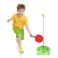 TOSUOD 乒乓球訓練器 高90cm 送3個球