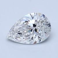 Blue Nile 1.01克拉 梨形钻石