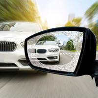 派樂特 汽車后視鏡防雨貼膜反光鏡防雨膜納米驅水倒車鏡玻璃劑防水貼通用100X145mm橢圓形2片裝