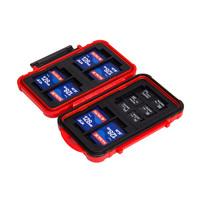 銳瑪 相機存儲卡盒 收納卡包SD CF XD TF卡防水 單反數碼內存卡盒