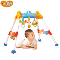AUBY 澳貝 運動系列活動健身架 嬰幼早教啟智塑料兒童寶寶嬰幼玩具 3個月以上 55.5*9.7*34.1cm
