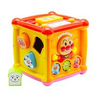 面包超人 ANPANMAN 益智玩具多功能正方形六面盒發聲玩具屋+湊單品