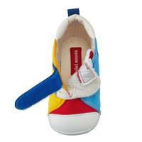 Mikihouse兒童帆布彩虹鞋板鞋學步鞋一段