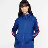 NIKE 耐克 Sportswear AR3057 女子全長拉鏈開襟連帽衫