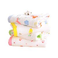 冠親 嬰兒浴巾純棉紗布 秋冬款