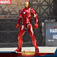 中動正版授權 Marvel/漫威復仇者聯盟3 Marvel彩盒:鋼鐵俠 正版手辦