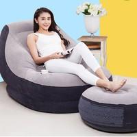 京東PLUS會員 : INTEX 68564 懶人舒適沙發