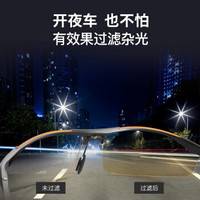 固特異 夜視鏡開車專用  駕駛員專用偏光司機太陽鏡防遠光燈夜視鏡 *2件