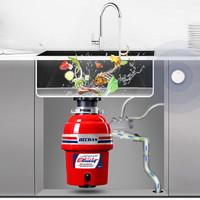 BECBAS/貝克巴斯 E60家用廚房食物垃圾處理器水槽廚余粉碎機無線開關