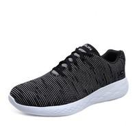 斯凱奇男鞋 新款百搭輕質休閑跑步鞋網布運動鞋