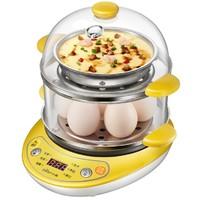 小熊家用煮蛋器雙層自動斷電蒸蛋器迷你多功能早餐全自動電煎蛋器