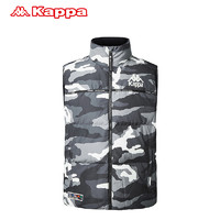 Kappa卡帕男款運動羽絨馬甲冬季保暖背心 2019新款 K0952NY80