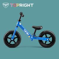 途銳達Topright 兒童平衡車2-3-4歲 免充氣米洛克藍+湊單品