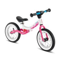 puky德國兒童平衡車無腳踏單車2-3-6歲嬰兒學步車小孩滑步車自行車RIDE 2018版粉白4085
