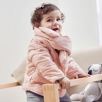 Mini Balabala 迷你巴拉巴拉 宝宝箱型围巾棉服