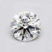 Blue Nile 1.00克拉 圆形切割钻石(切工EX,成色D,净度IF)