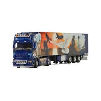 1:50 Gnter Pille SCANIA STREAMLINE  斯堪尼亞貨柜車模型品質定 01-2763