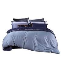 百丽丝家纺 水星出品 长绒棉60s/80S贡缎素色简约纯色四件套 汉格斯 宝利莱 1.8M(6英尺)床