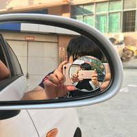 后視鏡小圓鏡無框廣角鏡倒車反光鏡盲點鏡汽車用品大全防撞神器